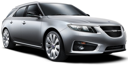 The Saab 9-5 SportWagon